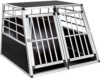 TecTake Cage Box Caisse de Transport pour Chien Mobile Aluminium - diverses Tailles au Choix - (Double/Grand   No. 400652)