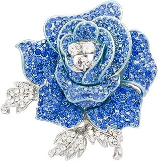 blue rose pin