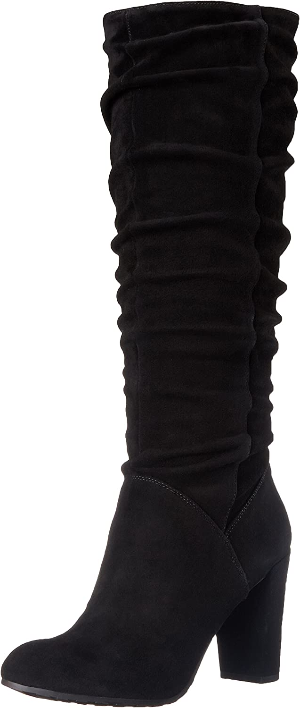 Nine West Shiryl Rund Wildleder Mode-Knie hoch Stiefel