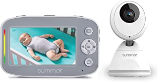 Summer Baby Pixel Cadet Video Baby Monitor with 4.3-Inch Color Display, Remote Steering Camera – Baby Video Monitor with C...