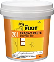 DR. FIXIT 201 Crack X Paste, Ready to use crack filler for internal & external surface cracks on roofs,wall, Flexible...