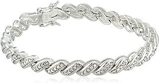 swarovski crystal bracelet silver