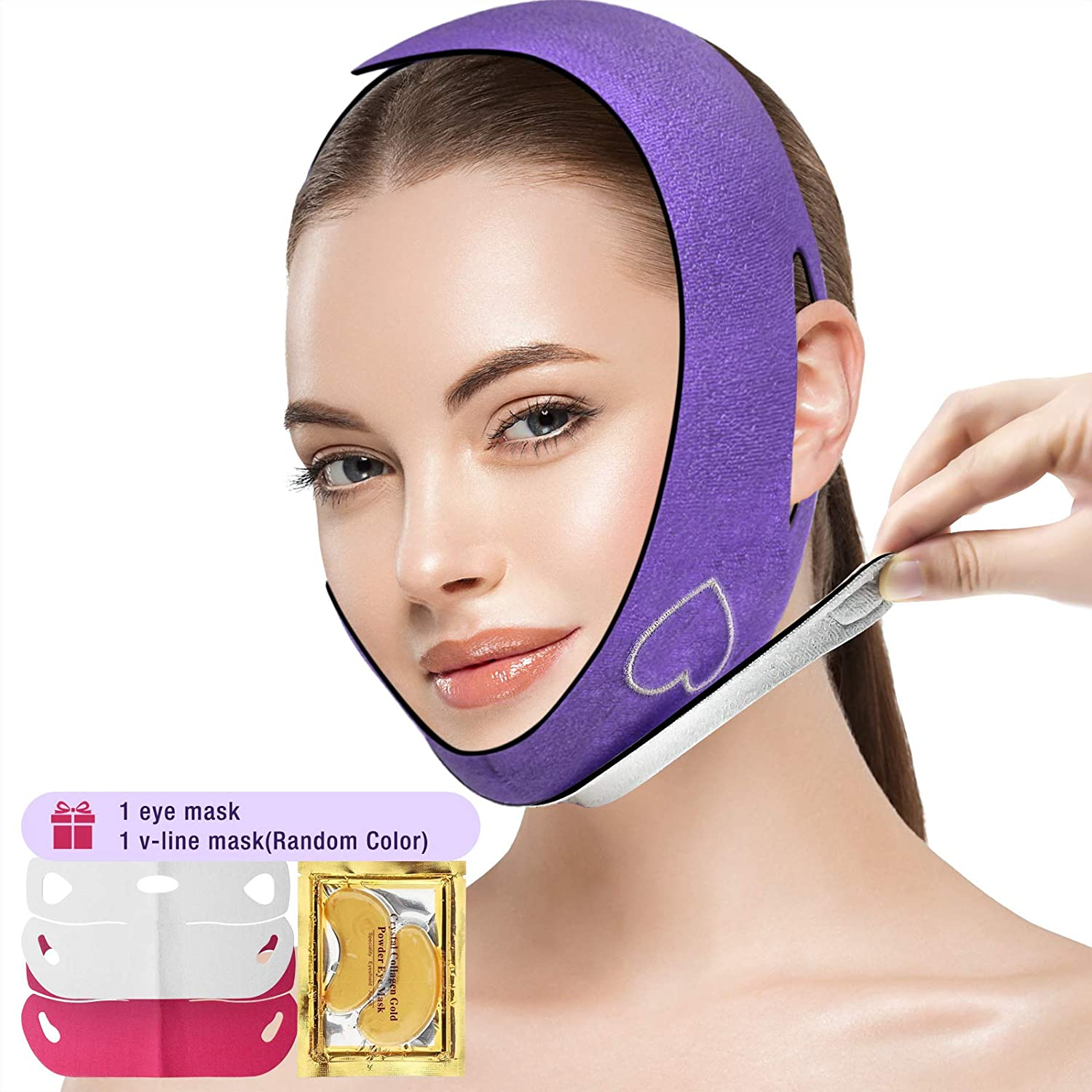 Reusable Graphene Face Manufacturer OFFicial shop Bombing free shipping Slimming Strap Chin Reducer F Pain Double