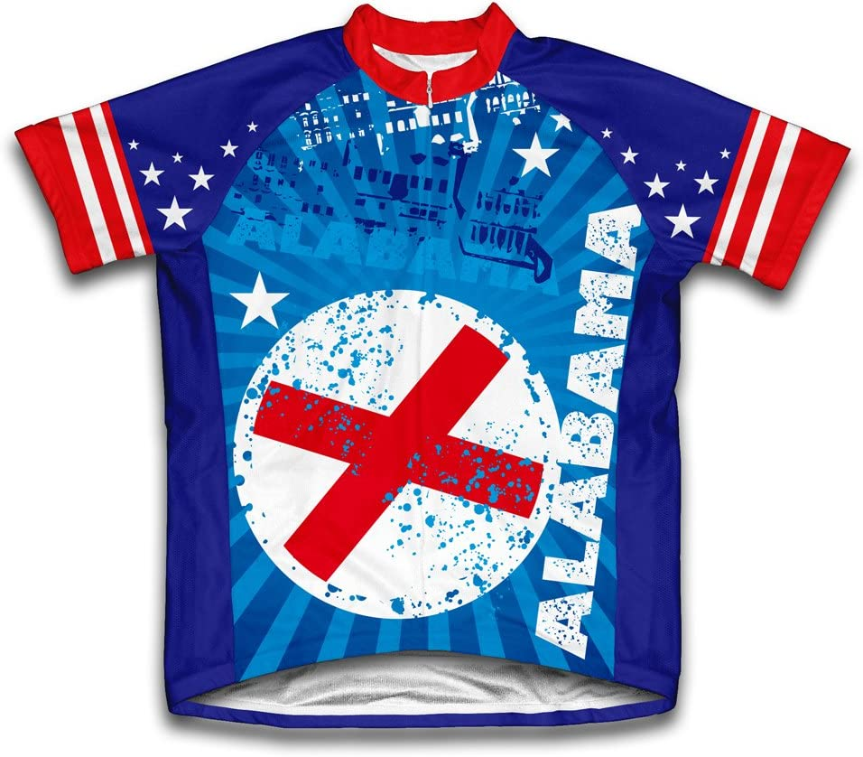 ScudoPro Alabama Short Sleeve Cycling Youth Wholesale for Jersey 2021new shipping free