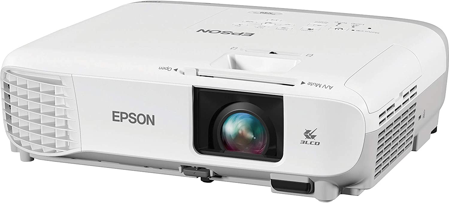 Epson PowerLite X39 LCD Projector - 4:3 - White, Gray