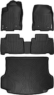 MAXLINER Floor Mats and Cargo Liner Set Black for 2015-2018 Lexus NX200t / NX300 / NX300h