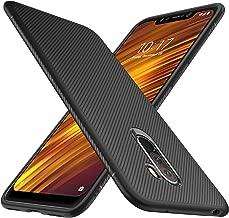 iBetter Xiaomi Pocophone F1 Cover, Xiaomi Pocophone F1 Custodia, Xiaomi Pocophone F1 Protettiva Cover Protezione Durevole, Compatibilita esatta per la Xiaomi Pocophone F1 Smartphone.(Nero)