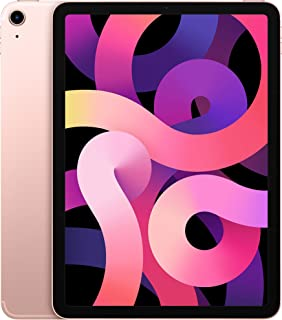 """Apple iPad Air 10.9"""" (2020 - 4th Gen), Wi-Fi, 256GB, Rose Gold [With Facetime] - USA Specs"""