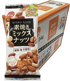 でん六 Eサイズプラス素焼きミックスナッツ 34g×10袋