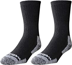 Wells Lamont Men's Wool Crew Socks, Shoe Sizes 13 to 15, 2 Pair Pack (9331XLN)