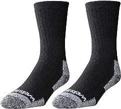 Wells Lamont Men's Wool Crew Socks, Shoe Sizes 13 to 15, 2 Pair Pack (9331XLN)