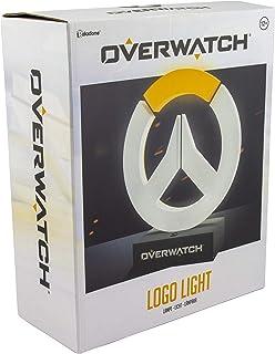 Paladone - Lampada da Collezione con Logo Overwatch, Ideale per camerette dei Bambini, Ufficio e casa, Merchandise Gaming ...