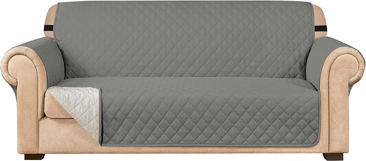 overseas Subrtex Max 74% OFF Sofa Slipcover Reversible Cover Quilted Couch Small