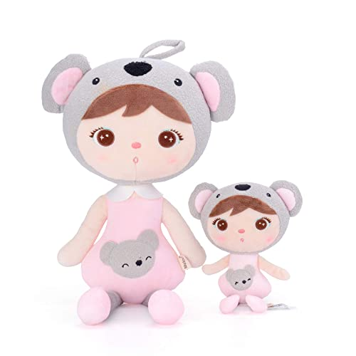 Me Too Plush Koala Dolls Stuffed Toys with Gift Box Koala Family 2 Piece Set (L + S)
