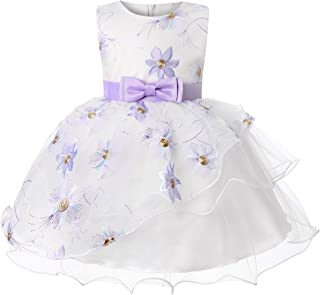 Baby Dresses Party Wedding Toddler Special Occasion for Newborn Baby Girls