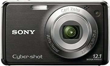 Sony Cybershot DSC-W220 12.1MP Digital Camera with 4x Optical Zoom with Super Steady Shot Image Stabilization (Black)
