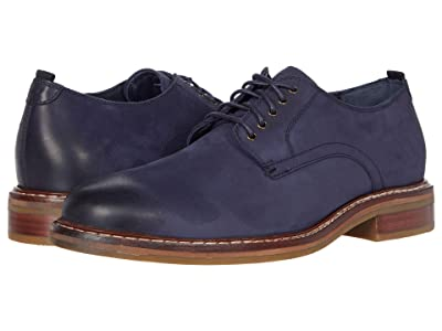 Cole Haan Frankland Grand Plain Toe Oxford (Navy Nubuck) Men