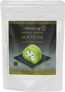 (12 PACK) - Clearspring Matcha Green Tea Powder (Premium Grade)  40 g  12 PACK - SUPER SAVER - SAVE MONEY