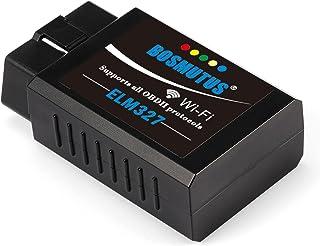 OBD2 WiFi Diagnósticos ELM327 V1.5, OBD II/EOBD Scanner (iOS/Android/Windows), Sistemas de Diagnóstico del Motor (OBD-II). más de 3000 Código de Base de Datos.
