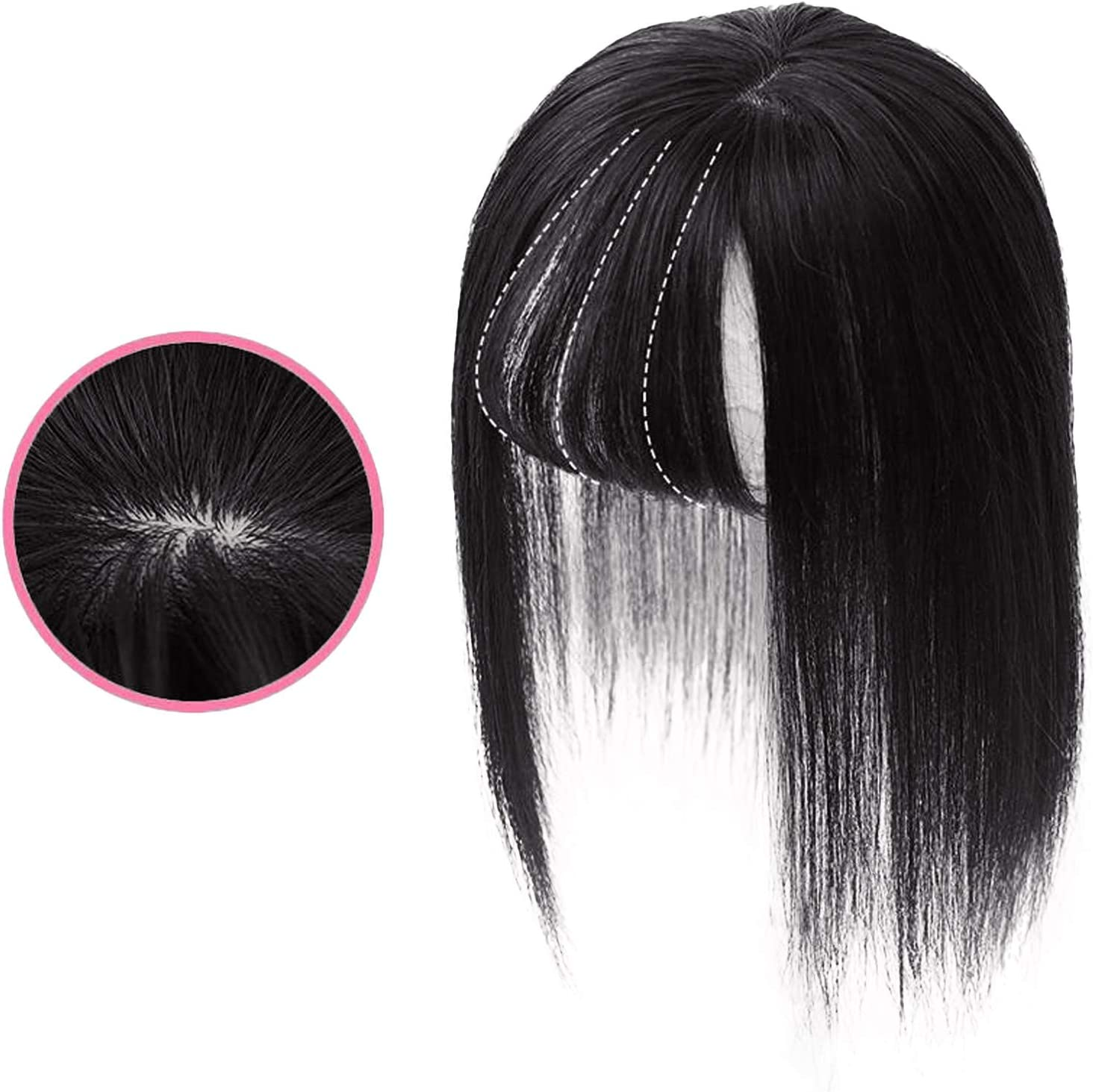 Ussuma 9.8 Inches Women's Breathable with Seamless Credence Wig Invisible Max 83% OFF