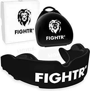 FIGHTR Premium Mouth Guard - for Better Breathing & Easily Adjustable   Sports Mouthguard for Boxing, MMA, Football, Lacro...