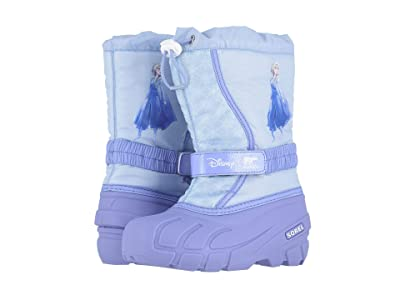 SOREL Kids Disney X Sorel Flurrytm Frozen 2tm Boot- Elsa Edition (Toddler/Little Kid/Big Kid) (Frosted Purple) Girls Shoes