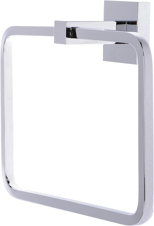 Italia CA3602 Capri Polished Chrome Towel Ring