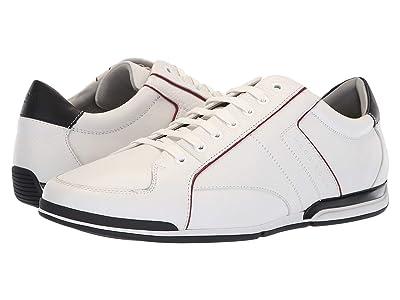 BOSS Hugo Boss Saturn Leather Sneaker by BOSS Green (White) Men