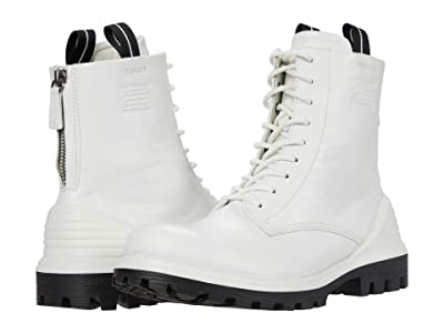 ECCO Tredtray High-Cut Boot (White) Women