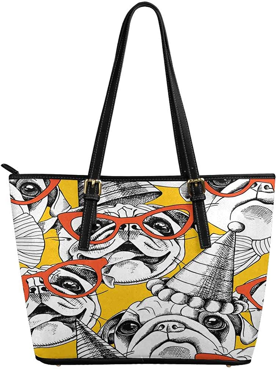 InterestPrint Top Handle Satchel HandBags Shoulder Bags Tote Bags Purse