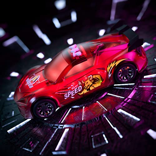 lowest Temi Toy Cars,Electric Race Car Toys with Flashing Lights Engine Sounds, Racing Model Car Sets Glow in The Dark, Xmas Birthday Gifts for 3 4 5 lowest 6 7 8 Years 2021 Old Toddlers Kids Boys Girls Party Favors online