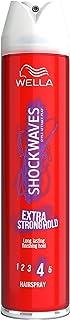 WELLA Shockwaves Hairspray, 400 ml