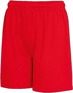Fruit Of The Loom - Pantalones cortos transpirables para niños