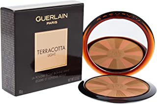 Guerlain Terracotta Light The Healthy Glow Powder 01 Light Warm for Women, 0.3 Ounce