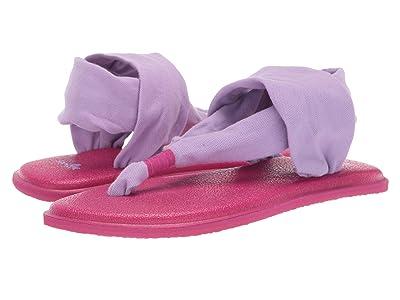 Sanuk Kids Lil Yoga Sling 2 (Little Kid/Big Kid) (Lavender) Girls Shoes