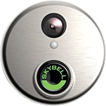 SkyBell SH02300SL HD WiFi Video Doorbell, Silver
