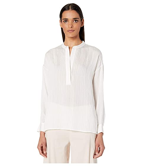 Vince Drapey Stripe Pullover Shirt