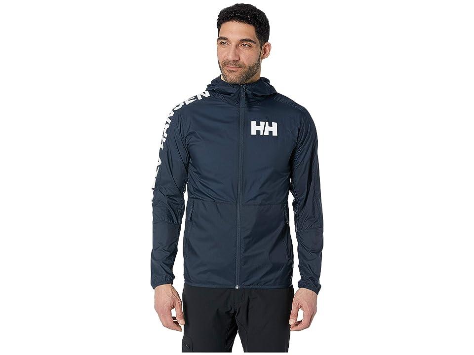 Helly Hansen Active Windbreaker Jacket (Navy) Men