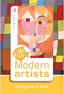 Go Fish for Modern Artists Card Game