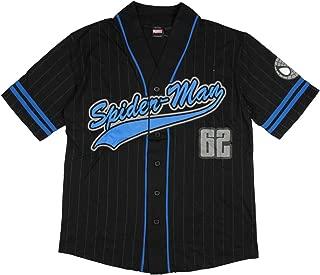 spiderman baseball shirt