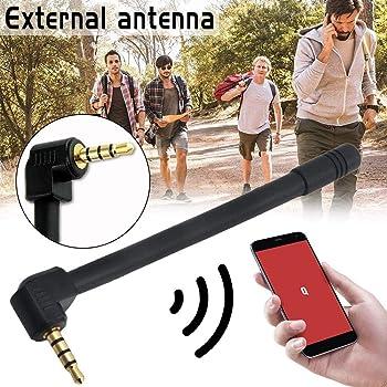 iBàste Antena Exterior de 3,5 mm Señal de Antena Externa ...