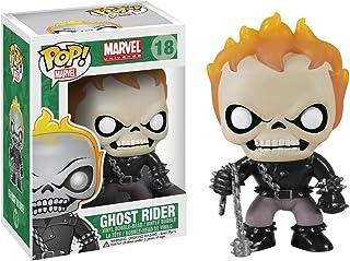 Funko Pop! Marvel: Ghost Rider Figuras coleccionables - FiFiguras de acción y colleccionables (Figuras coleccionables,, Dibujos Animados, Marvel: Ghost Rider, Vinilo, 5 año(s))