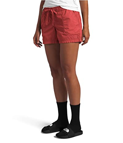 The North Face Motion Pull-On Shorts (Sunbaked Red) Women