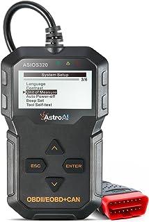 AstroAI Escáner Automotriz OBD2 Professional, Lector de Códigos Universal, Scaner para Auto Herramienta de Diagnóstico con...