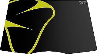 Mionix Sargas Medium - Alfombrilla de ratón (370 x 260mm, 2.5 mm), color negro y amarillo