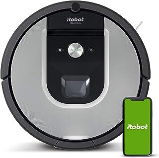 iRobot Roomba 971 Saugroboter mit starker Saugkraft, 3-stufigem Reinigungssystem, Raumkartierung, Zwei Multibodenbürsten, Kompatibel mit der Imprint Link Technologie, Ideal für Haustiere