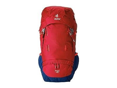 Deuter Fox 40 (Cranberry/Steel) Bags