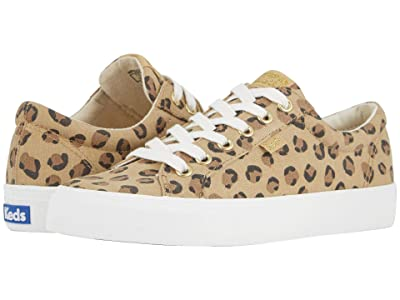 Keds Jump Kick Leopard (Tan/Black) Women