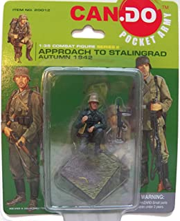 Approach to Stalingrad Series 2 Figure A [Crouching] - Can Do Pocket Army 1:35 Scale Combat Figure