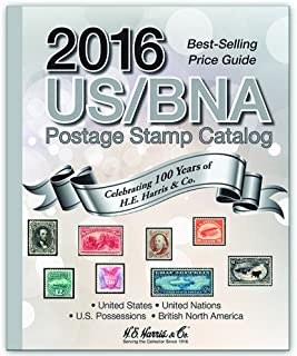 2016 US/BNA Postage Stamp Catalog (US BNA Stamp Catalog)